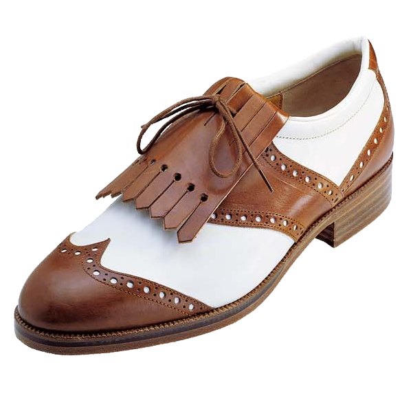 Traditional Leather Golf Shoes